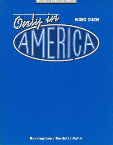 Only in America: Video Guide [VHS]
