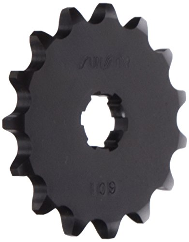 (Sunstar 10915 15-Teeth 420 Chain Size Front Countershaft Sprocket)