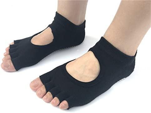 Yeying123 Medias De Yoga Calcetines Antideslizantes para ...