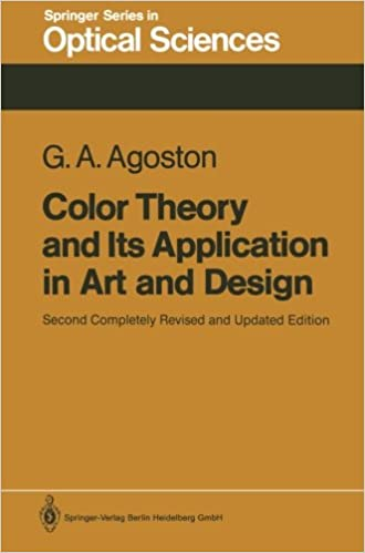 color theory and its application in art and design springer series in optical sciences george a agoston 9783540170952 amazoncom books - Books On Color Theory