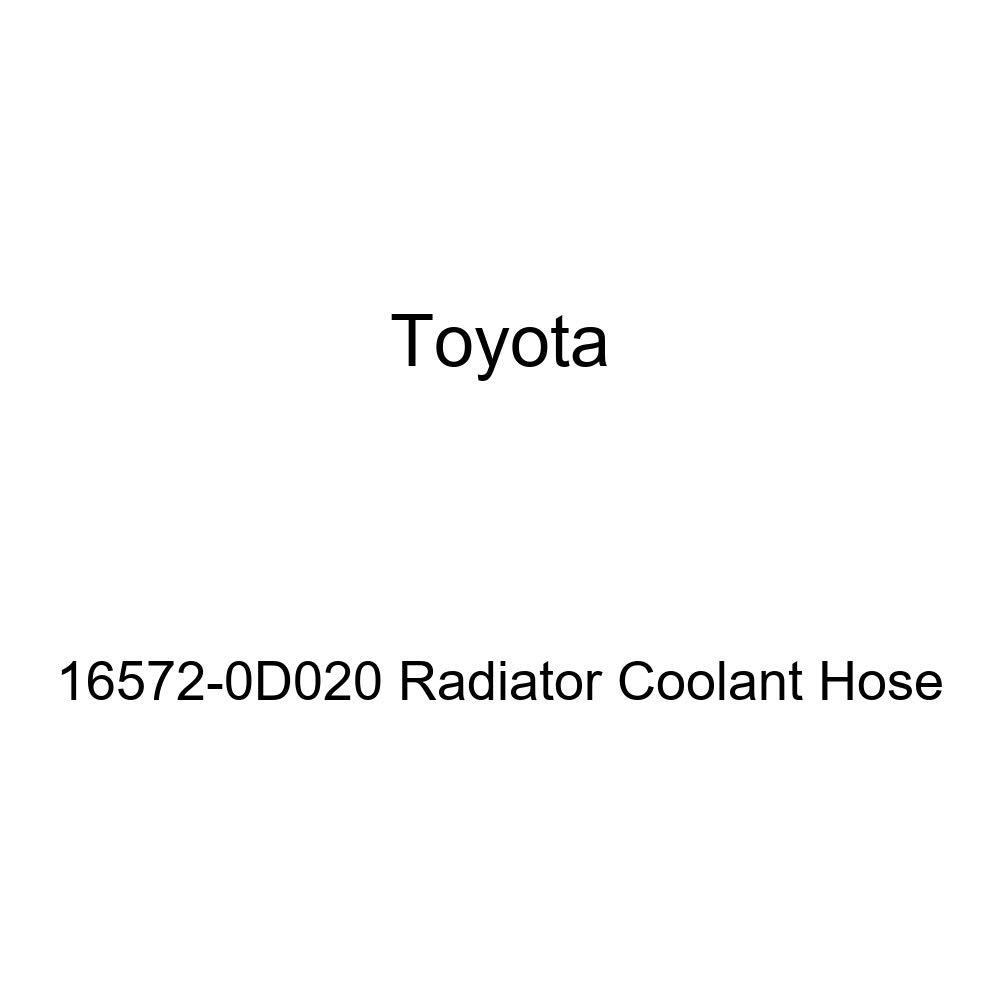 Toyota 16572-0D020 Radiator Coolant Hose