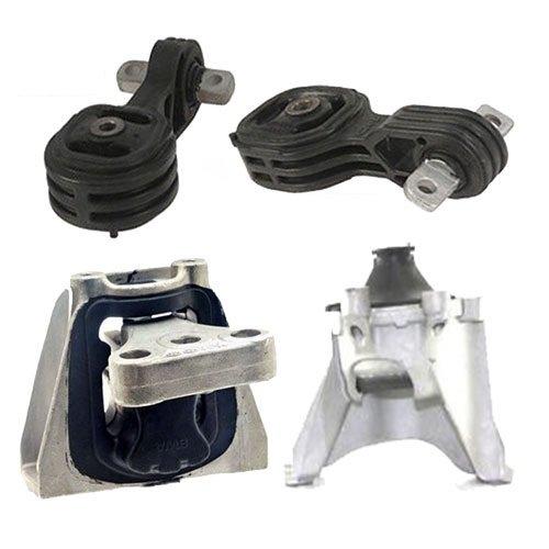 K0162 Fits 2007-2011 HONDA CR-V 2.4L ENGINE MOTOR & TRANS MOUNT SET 4 PCS : A4595, A4536, A4535, A4598