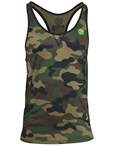 15ff8f24c22000 Gold s Gym Advance Men s Performance Stringer Workout Tank Shirt (Large