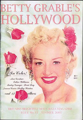 Betty Grable's Hollywood, Issue No. 51, Summer 2001