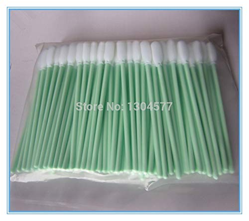 Yoton Factory Supply - 500 Pieces Small Cleaning Foam Swabs Clean Sticks for Mimaki JV33, JV4, JV3, JV5, GP604d Printers