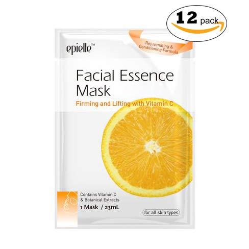 Kareway Epielle Vitamin C Facial Essence Mask Pack of 12
