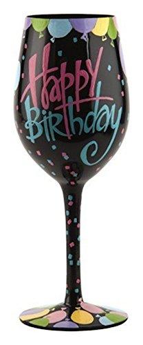 Lolita Happy Birthday Balloons Painted