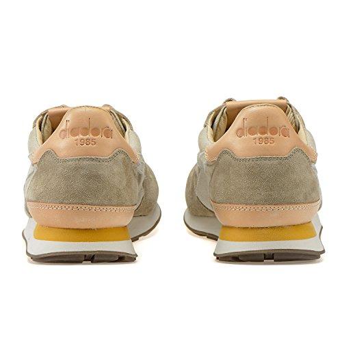 Uomo per Camaro ITA Heritage Argento 25051 Visone Diadora Sneakers wfSqXfZ