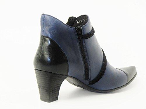Fidji P02 black schwarz V311 Women Boots Ankle 002 rxqrZa