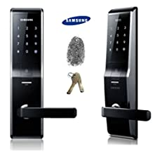 Fingerprint SAMSUNG SHS-H700 New version of SAMSUNG SHS-5230 digital door lock keyless touchpad security EZON
