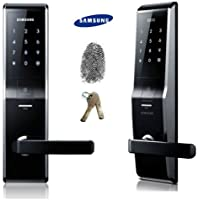 Fingerprint SAMSUNG SHS-H700 New version of SAMSUNG SHS-5230 digital door lock keyless touchpad security EZON