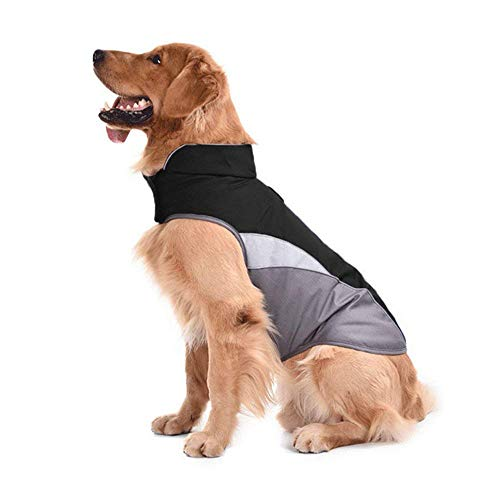 SILD Dog Jacket Outdoor Indoor Activities Waterproof Windproof Reflective Dog Cold Weather Winter Coat Dog Vest Autumn…