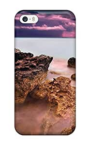 Hot Snap-on Foggy Ocean Artistic Photography People Photography Hard Cover Case/ Protective Case For Sony Xperia Z2 D6502 D6503 D6543 L50t L50u Cover