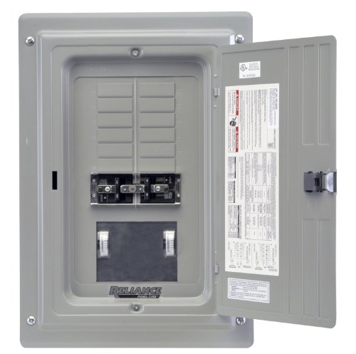 Generator Panel - Reliance Controls Corporation TRC1005C Indoor Transfer Panel