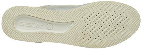 A D Para Plateado Zapatillas Geox ivory platinumc0997 Chewa Mujer 7nBawx