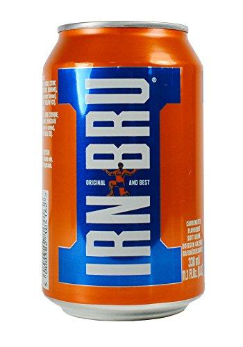 - Barr's Irn-Bru, 11.1 oz (Pack of 4)