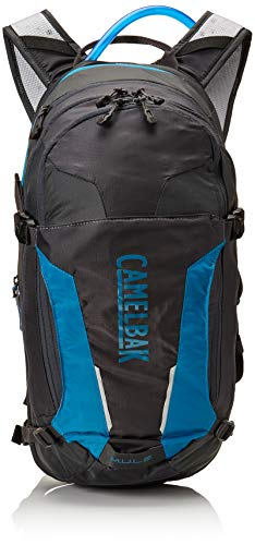 - CamelBak M.U.L.E. 100 oz Hydration Pack, Charcoal/Teal