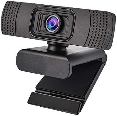 LinZec H603 Drive-Libre de la cámara del Ordenador Clip, 1080P Built-in micrófono cámara HD para Escritorio/Ordenador portátil/TV