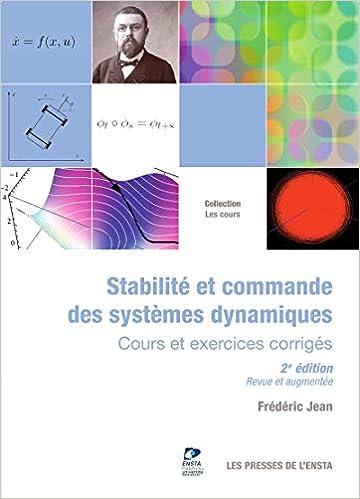 Amazon Fr Stabilite Et Commande Des Systemes Dynamiques