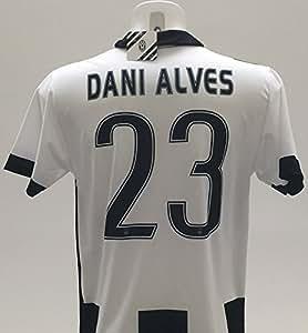 Camiseta Dani Alves Juventus réplica oficial 2016-17, Juve niño, talla 12 10 8 6 4 2 Home 23., come da foto