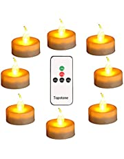 Topstone Led Tealight with Remote and Timer