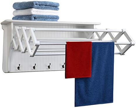 Danya B White Accordion Drying Rack