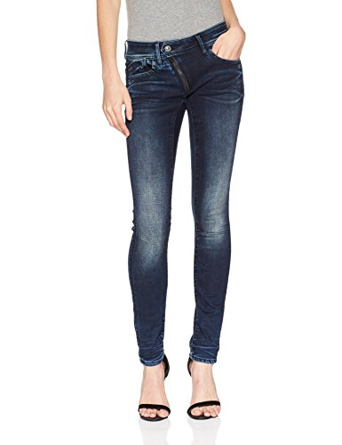 Mid Skinny 89 Jeans Lynn Aged Blu Donna Cerniera G Raw star Superstretch 6549 dk Slander qw4fXXcIW