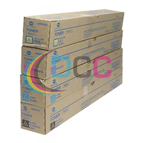 Konica-Minolta TN514 CYMK Toner Cartridges Set