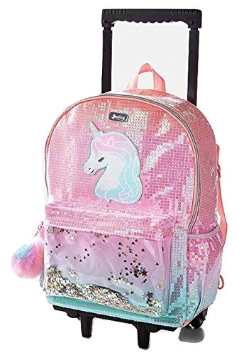 Justice Backpacks For Kids (Justice Unicorn Ombre Shaky Rolling)
