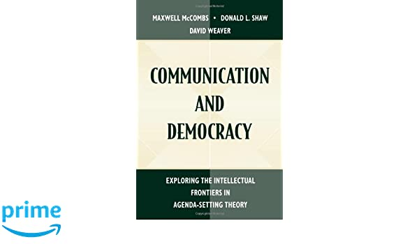 Communication and Democracy: Exploring the intellectual ...