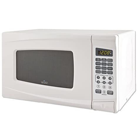 Amazon.com: Rival Horno de microondas 0,7 Cu ft, color ...