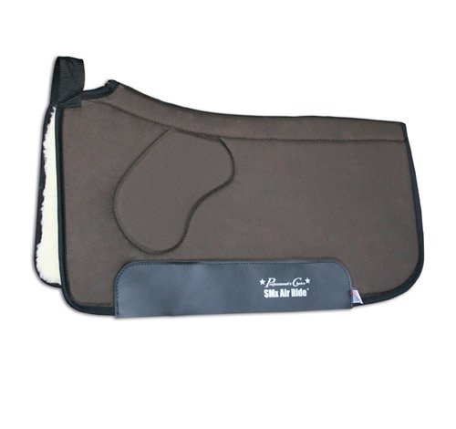 Professionals Choice 30X33 Equine Smx Air-Ride Orthosport Saddle Pad (Chocolate Brown)