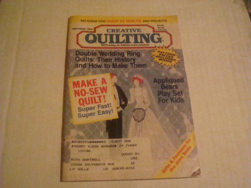 Creative Quilting Magazine May/June 1992 (Volume 7 Issue 3)