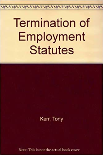Book Termination of Employment Statutes