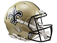 NFL New Orleans Saints Speed Authentic Football Helmet
