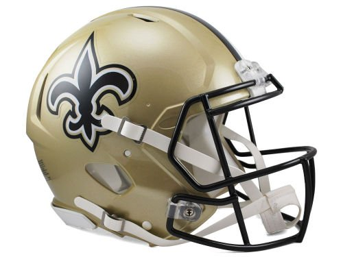 New Orleans Saints Replica Helmet - NFL New Orleans Saints Speed Authentic Football Helmet