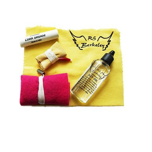 Band Camp Buddy for Bass Clarinet - Essential Travel Cleaning Care & Maintenance Pack for Bass Clarinet Players