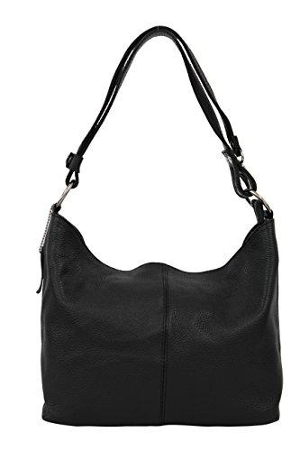 Modèle Ambra épaule Sac pour Moda GL005 main Schwarz Black Femme Hobo à Porté araTqw8
