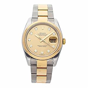 Rolex Datejust Automatic-self-Wind Male Watch 116203 (Certified Pre-Owned)