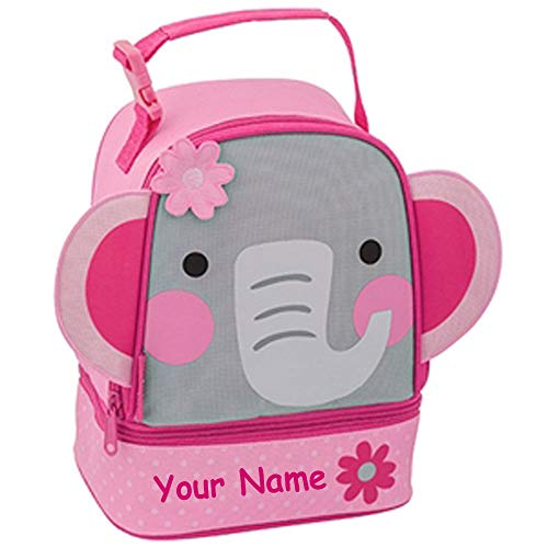 (Stephen Joseph Personalized Elephant Lunch Pals Lunch Box Bag)