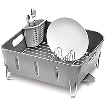 Amazon Com Sakura Two Tiers Compact Dish Rack