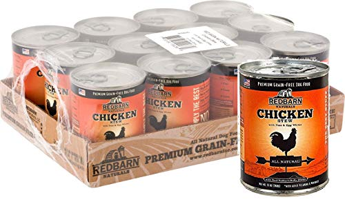 Cheap Redbarn 12 Can Case Of Natural Grain-Free Chicken Recipe Stew For Dogs, 13 Ounces Each