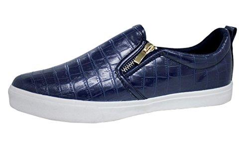 AK collezioni , Herren Sneaker blau blau 45