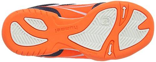 hummel HUMMEL ROOT JR - Zapatillas infantil multicolor - Mehrfarbig (Graphite 2786)