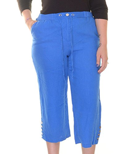 Vent Cropped Pant - 1