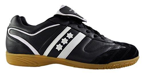 chaussures d intérieur Champ-In noir / blanc unisexe 36
