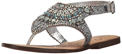 Women's Monkey Naughty Ice Silver Berg Sandal 6HP5q