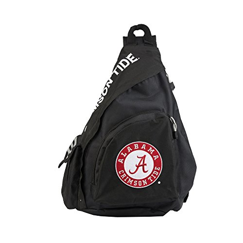 Officially Licensed NCAA Alabama Crimson Tide Leadoff Slingbag (Alabama Bag Crimson Laptop Tide)