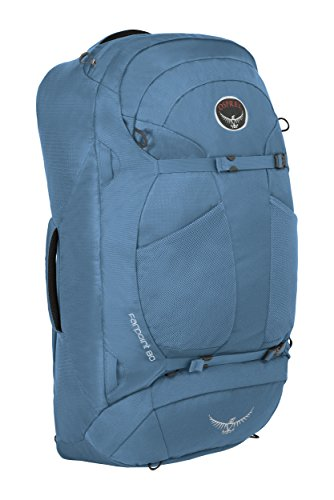 Osprey Packs Farpoint 80 Travel Backpack, Caribbean Blue, Medium/Large