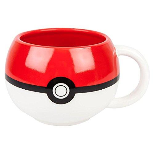 Pokemon Pokeball Figural Mug